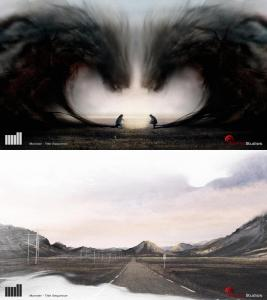 Norwegian drama monster title sequence